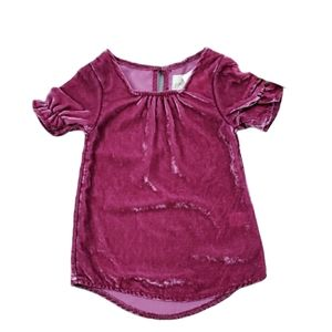 [Peek] Little Peanut 3-6 Month Velvet Dress